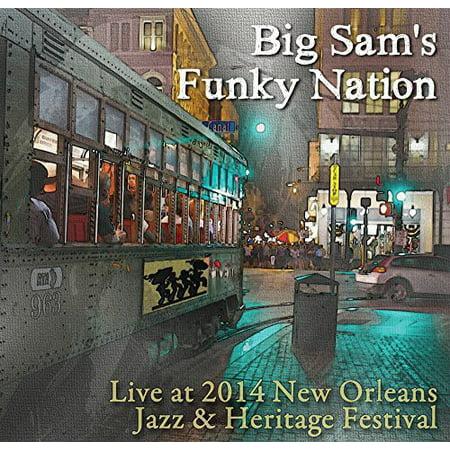 Big Sams Funky Nation   Live At Jazz Fest 2014  Cd