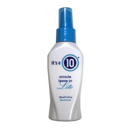It's A 10 Miracle Leave-In Lite 4 Oz, Enhances Natural
