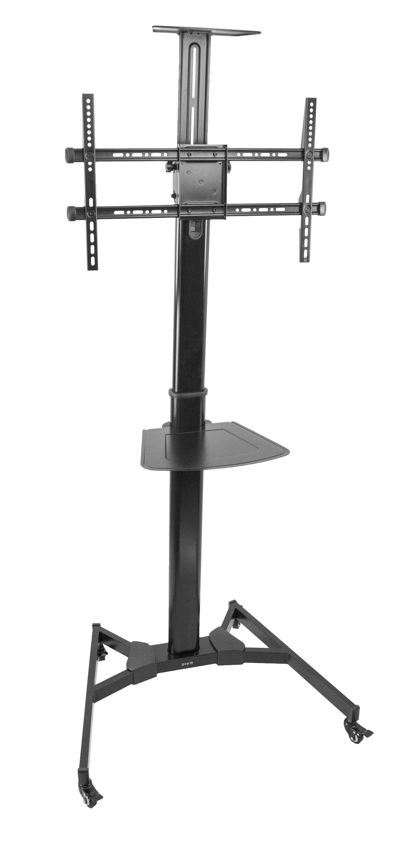 """VIVO Heavy Duty Universal TV Cart for 37"""" to 70"""" Flat Screen Panel 