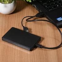 DZT1968 USB3.0 1TB External Hard Drives Portable Desktop Mobile Hard Disk Case