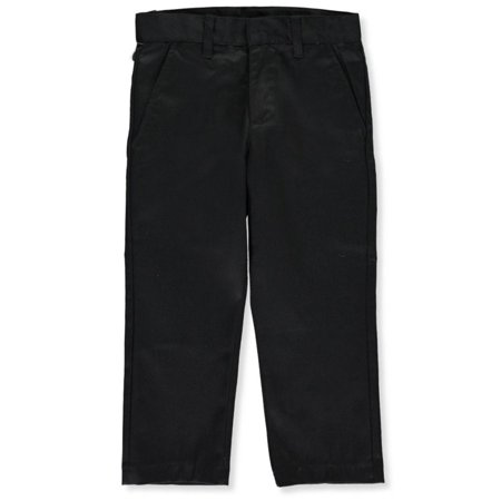 Galaxy School Uniforms Big Boys' Double-Knee Pleated Pants (Sizes 8 - 20)