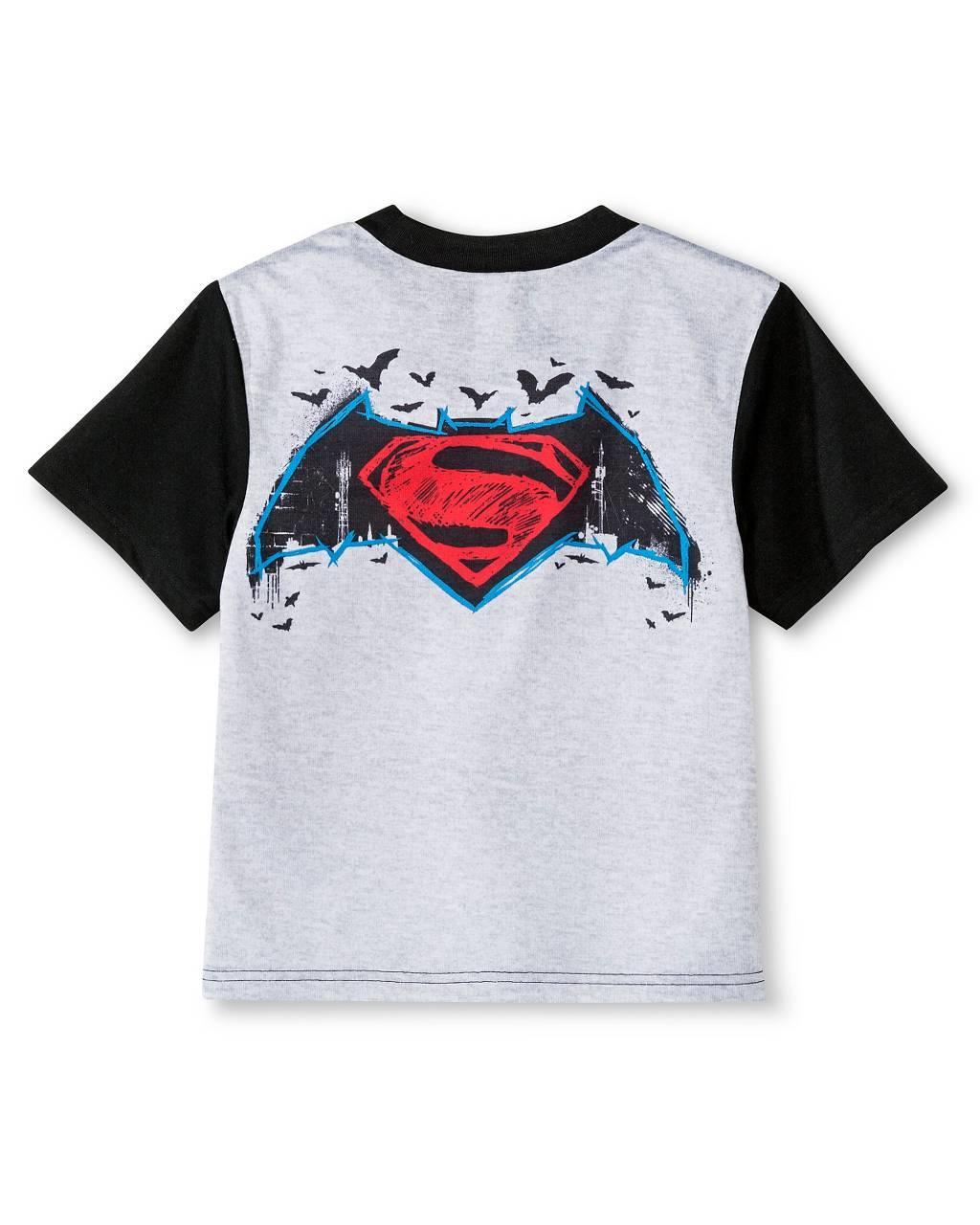 DC Comics Batman Versus Superman Big Boys Shorts Pajamas Set Dawn of Justice