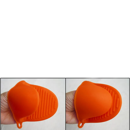 2 Silicone Oven Mitt Pot Holder Glove Grip Pinch Kitchen Heat Resistant New ! - Pot Holders Diy