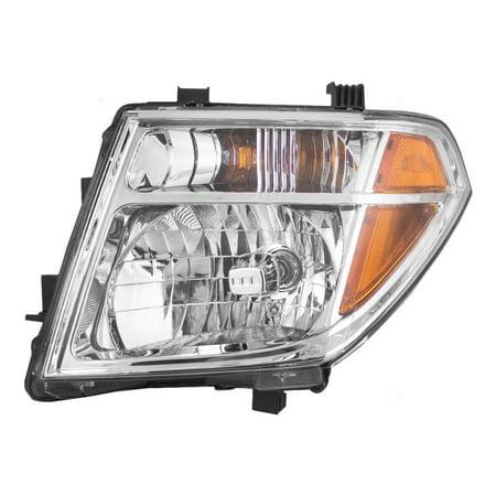 Drivers Halogen Combination Headlight Headlamp Replacement Fits 05 07 Nissan Pathfinder 08 Frontier 26060ea525