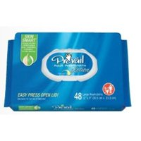 "Prevail ADULT WIPE or WASHCLOTH 8 X 12"" WW-710 48 /Pack"
