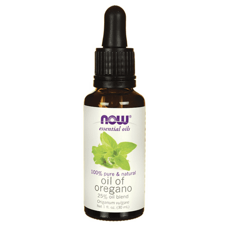 NOW Foods Oil of Oregano 25% Oil Blend 1 fl oz (Gainsborough Oil)