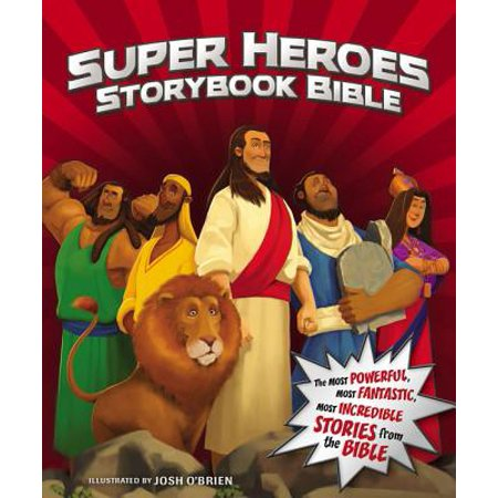 Super Heroes Storybook Bible](Superhero Magazine For Kids)