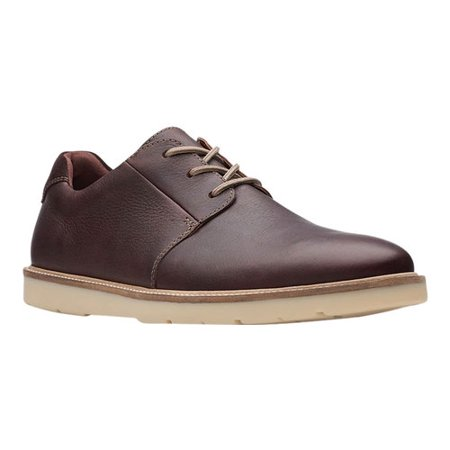 Men's Clarks Grandin Plain Toe Sneaker Sanuk Mens Leather