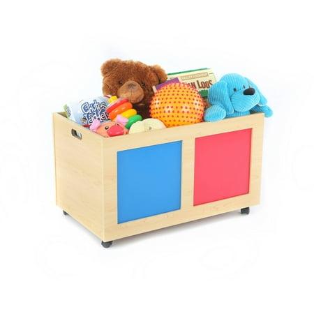 Tot Tutors Primary Focus Rolling Toy Box ()