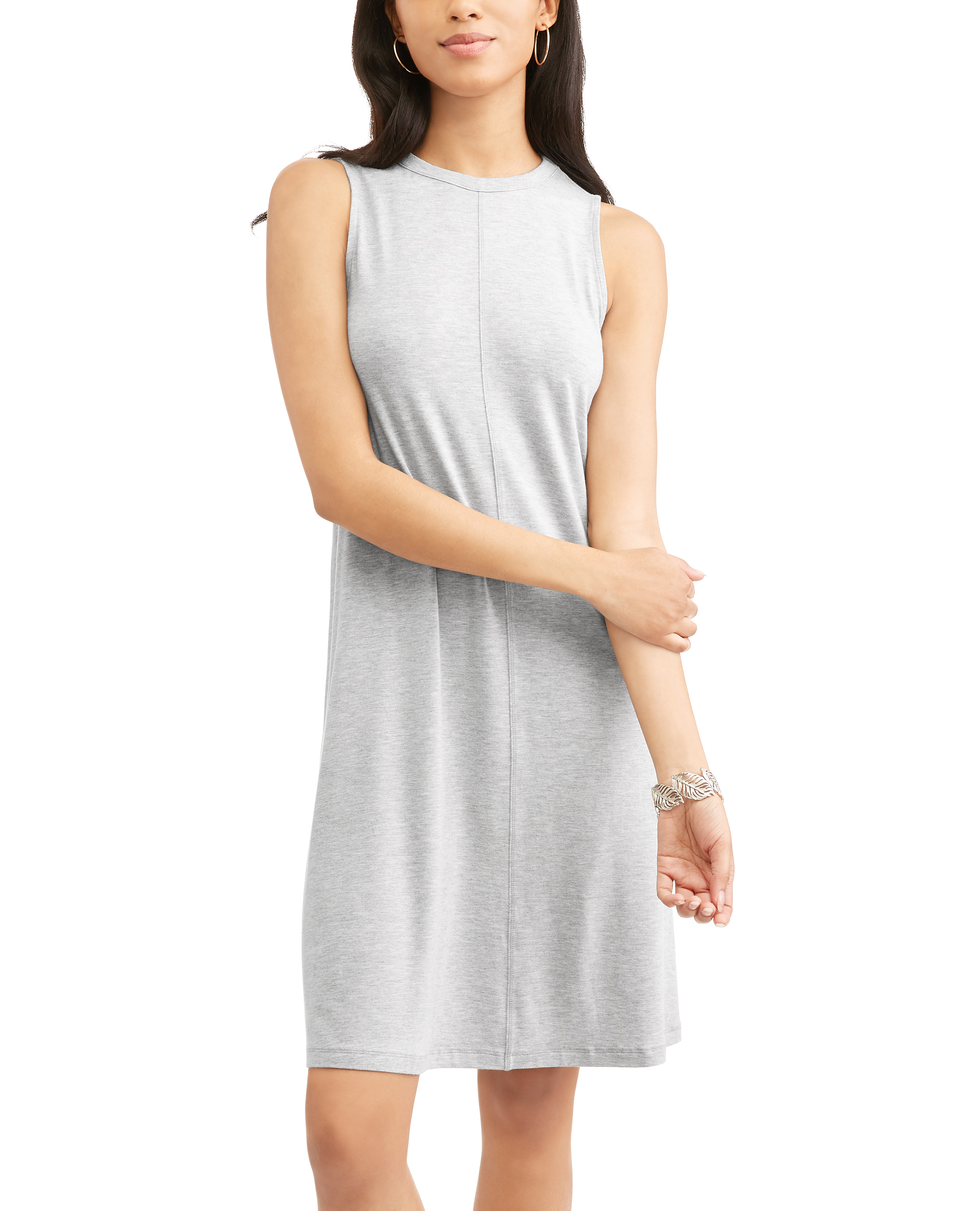 Women's High Neck Swing Dress
