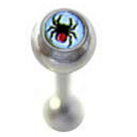Spider Logo Tongue Jewelry?