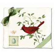 Alices Cottage AC34419 Cardinal Flour Sack Towel-set of 2