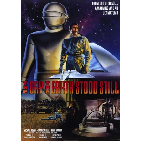 The Day The Earth Stood Still (1951) 11x17 Movie - Earth Day Poster Ideas