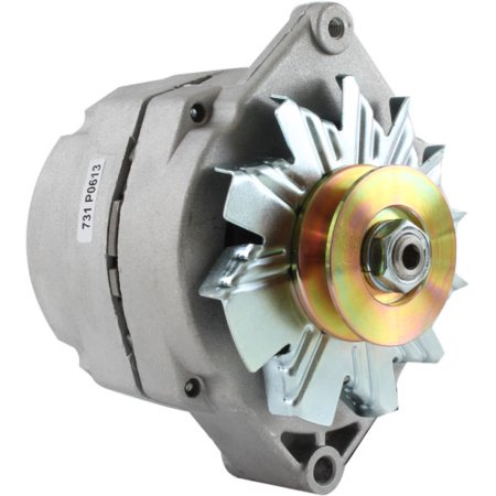 DB Electrical ADR0173 TRACTOR Generator 1-Wire ALTERNATOR w 1/2 Inch Pulley for John Deere Case /63 Amp, 12 Volt, (3 Wire Alternator To 1 Wire Conversion)
