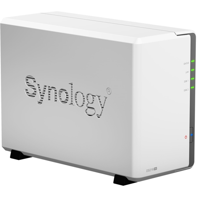 Click here to buy Synology Disk Station 2-Bay Diskless Network Attached Storage (DS216se) by Synology.