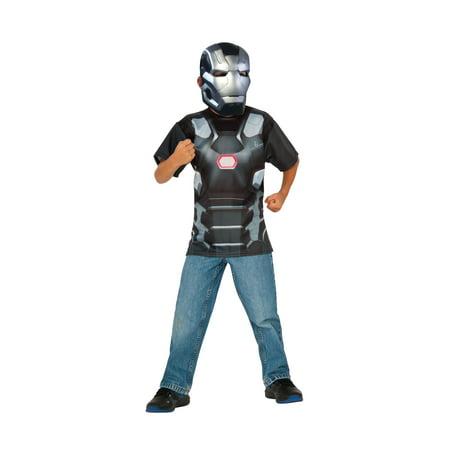 Rubie's Costume Captain America Civil War War Machine Child Top and Mask Medium](War Machine Kids Costume)