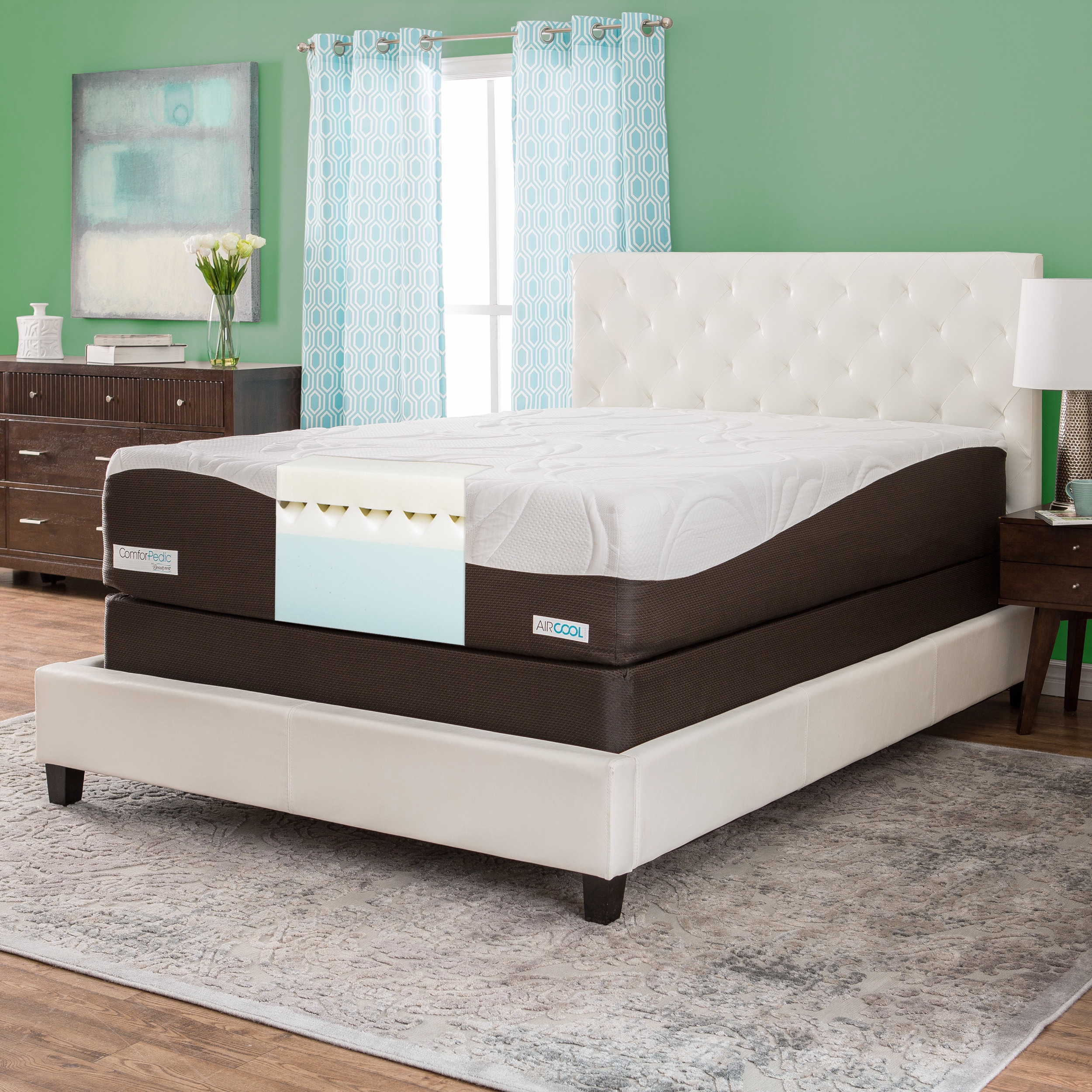 Simmons Beautyrest ComforPedic from Beautyrest 14-inch Ki...