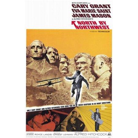 Pop Culture Graphics MOV144130 North by Northwest Movie Poster, 11 x 17 - image 1 de 1