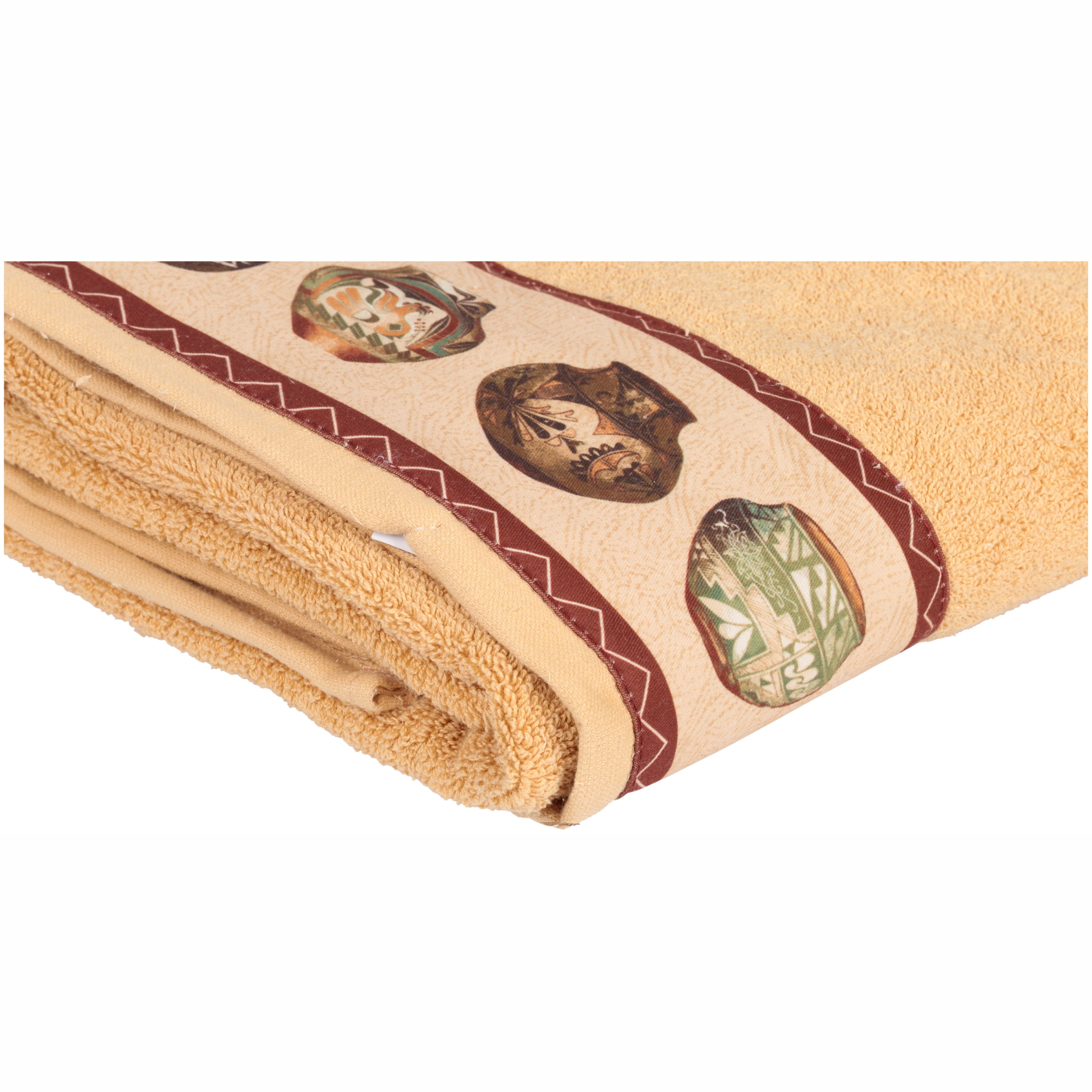 Home Wear Artisan 100% Cotton Bath Towel by HomeWear a Division of Sam Hendaya Linens