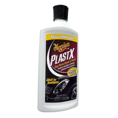 Polishing Treatment - Meguiar's G12310 PlastX Clear Plastic Cleaner & Polish, 10 oz