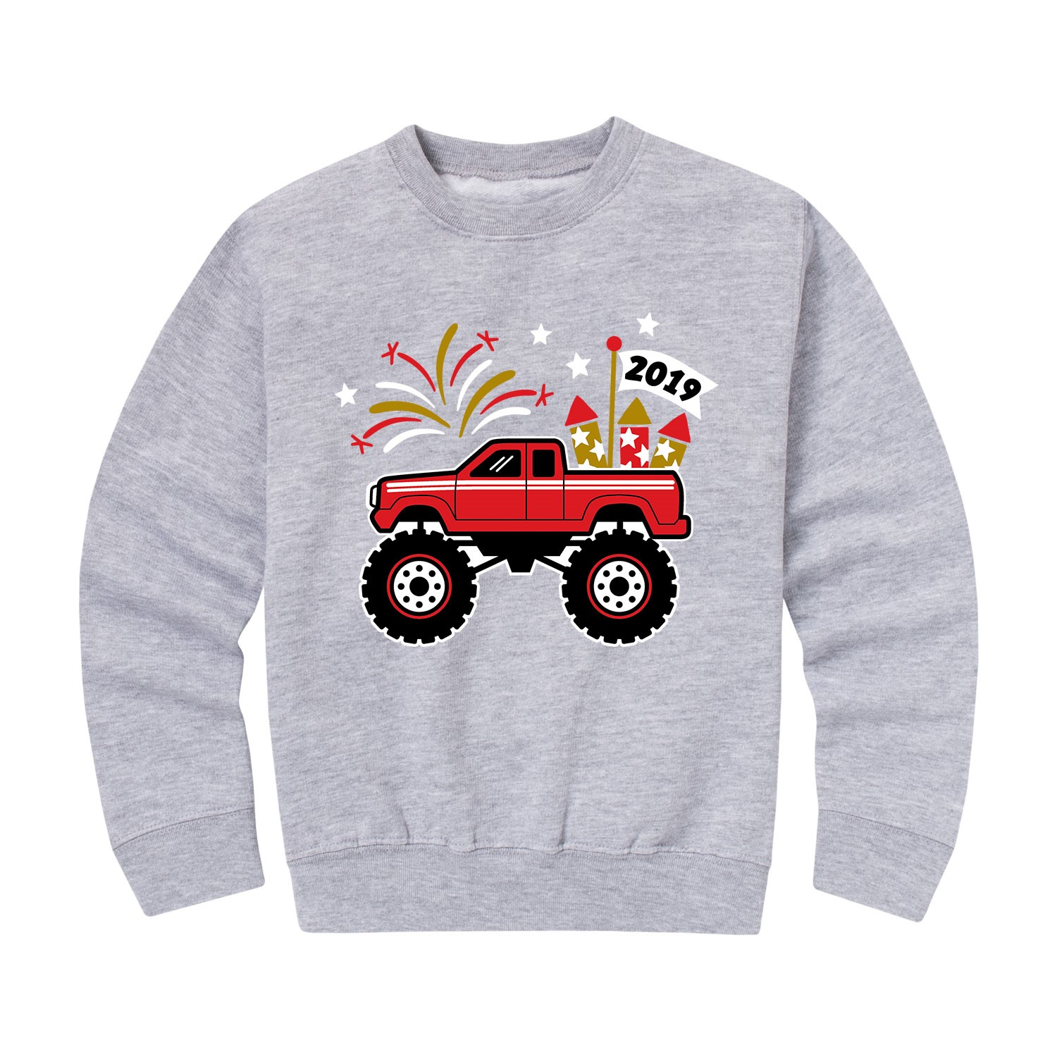 Case IH Kid Athletic Heather Crew Fleece Toddler Shirt