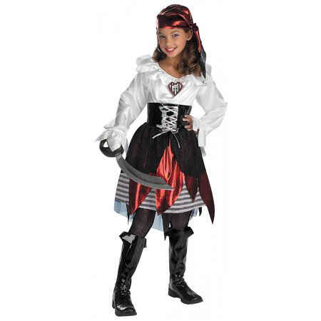 Pirate Lass Child Costume - - Pirate Lass Costume