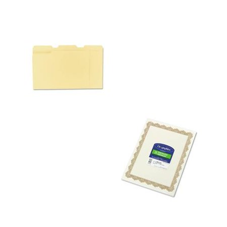 shoplet best value kit geographics parchment paper certificates