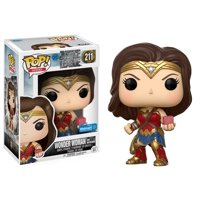 Funko POP Movies: DC Justice League Movie - Wonder Woman with Mother Box - Walmart Exclusive