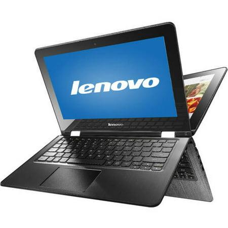 "Lenovo Black 14"" Flex 3-1480 80R30015US Laptop PC with Intel Core i5-6200U Dual-Core Processor, 4GB Memory, Touchscreen, 500GB Hard Drive and Windows 10 Pro"