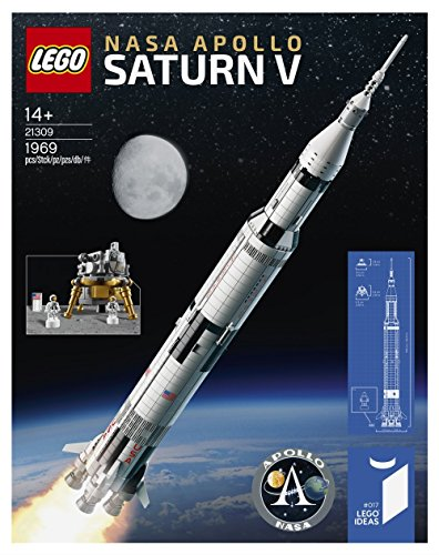 Lego Ideas Nasa Apollo Saturn V (21309) Popular Creative Building Set (1969 Piece) for Fans of Lego Sets and... by Lego