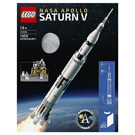 Lego Ideas Nasa Apollo Saturn V  21309  Popular Creative Building Set  1969 Piece  For Fans Of Lego Sets And Space