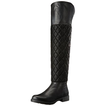 Penny Loves Kenny Womens Dion Western Quilted Over-The-Knee -