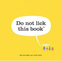 Do Not Lick This Book (Hardcover)