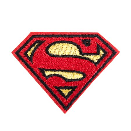 DC Comics Superman Logo Embroidered Iron On Patch