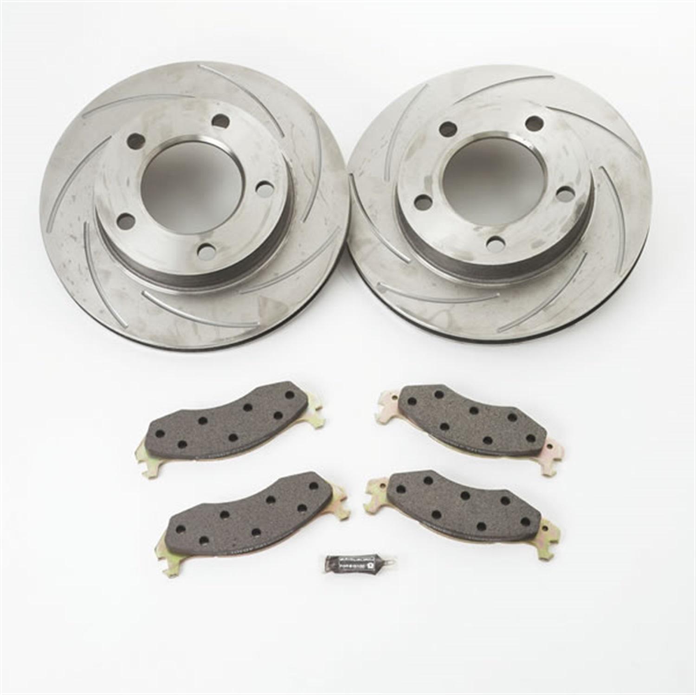 SSBC Performance Brakes A2351011 Turbo Slotted Rotors