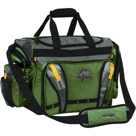 Okeechobee fats okeechobee fats large tackle bag green for Fishing bags walmart