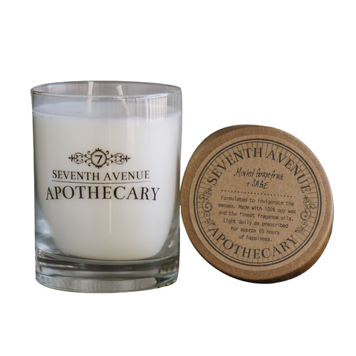 Seventh Avenue Apothecary Minted Grapefruit and Sage Candle
