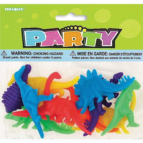 Plastic Dinosaur Party Favors, 12-Count