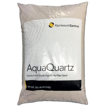 Aquaquartz 20 Grade Silica Pool Filter Sand 50 Pounds