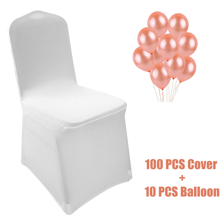 4//6 PCS Chair Covers Spandex Folding Chair Covers for Dining Wedding Banquet