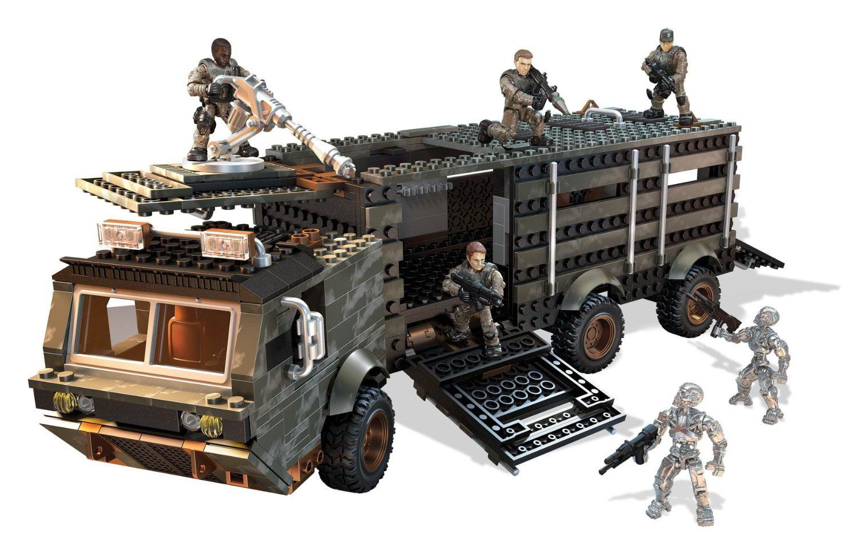 Mega Bloks Terminator: Genisys Prisoner Transport Attack by Mega Bloks
