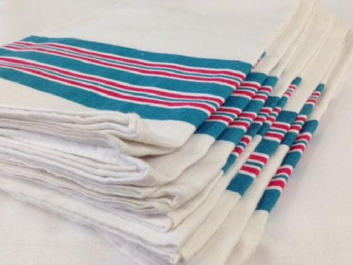 4 new soft baby infant receiving swaddling hospital blankets 30/'/'x40/'/' stripe