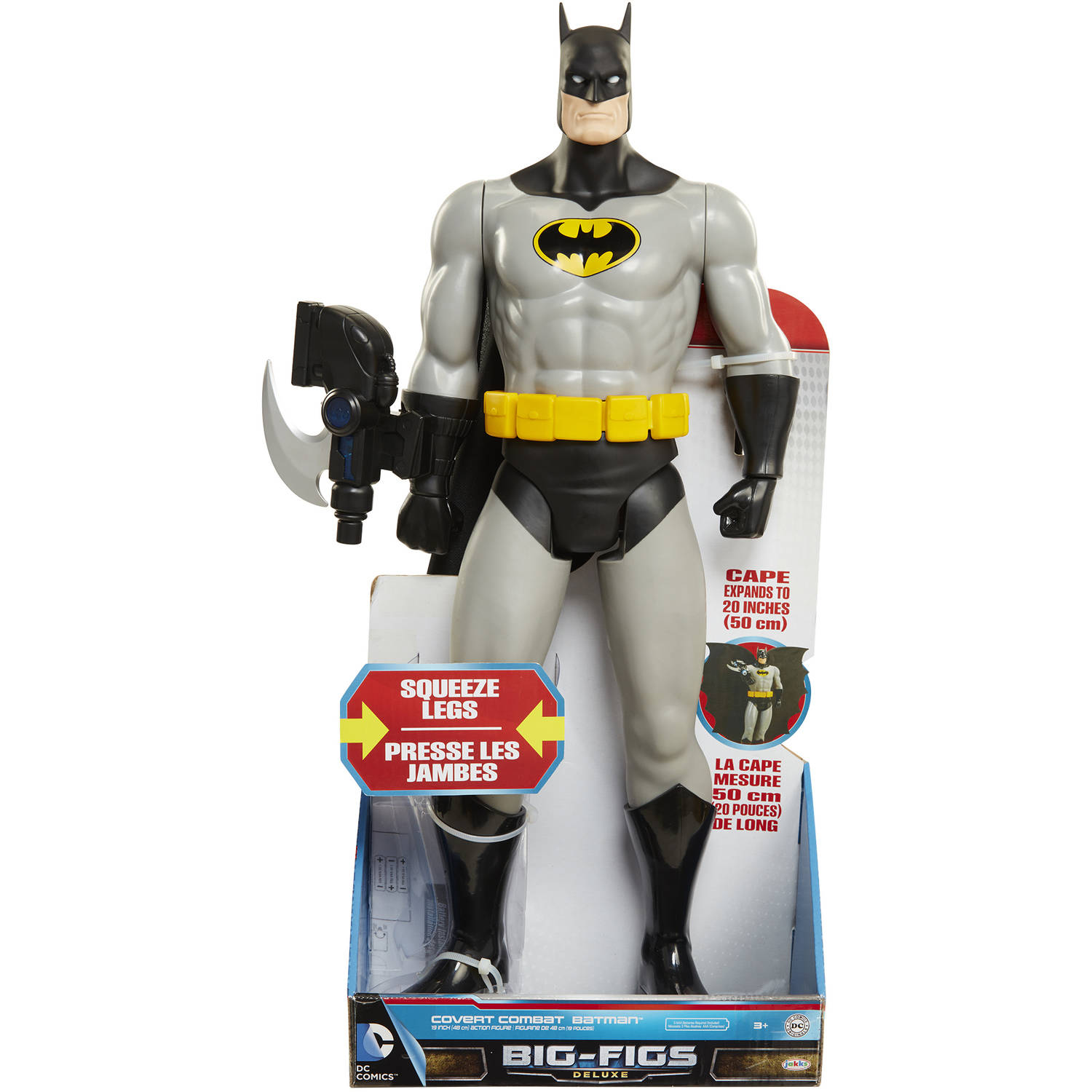 "Big-Figs Deluxe DC Universe 20"" Covert Combat Batman by N"