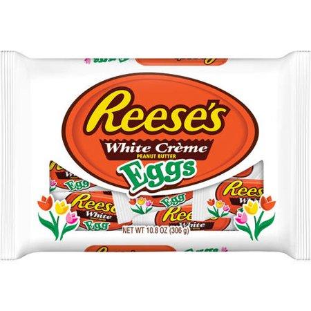 Reese's White Peanut Butter Eggs, 10.8 (White Reese's)