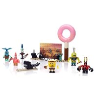SpongeBob SquarePants Post-Apocalypse Figure Pack, Six post-apocalypse SpongeBob SquarePants micro action figures By Mega Bloks