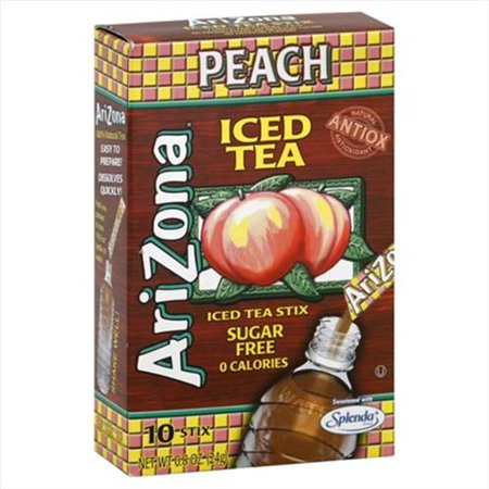 Tea Mix Sf Stix Peach Ice -Pack of 12