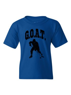 G.O.A.T Hockey Girls Boys  Short Sleeve