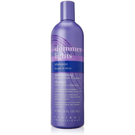 Clairol Professional Shimmer Lights Shampoo Blonde & Silver 16