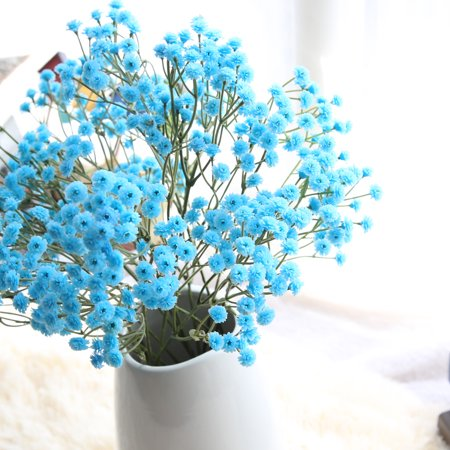 Artificial Silk Fake Flowers Baby's Breath Floral Wedding Bouquet Party Decor BU