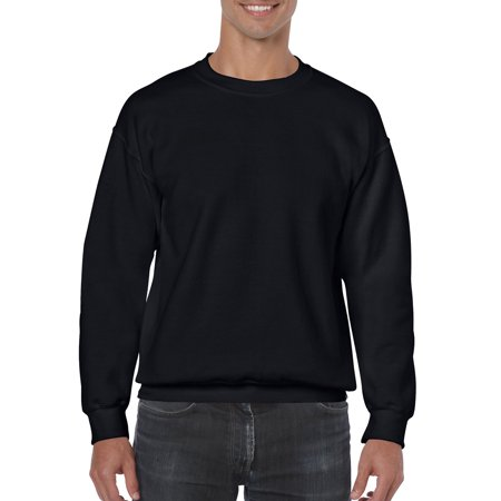 Big Mens Crewneck Sweatshirt - Nike Gray Classic Sweatshirt